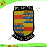 Cheap Wholesale Custom Fashion Embroidery Patch Velcro on Back Patch