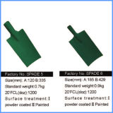 Power Coated Steel Trenching Spade Head, Shovel Head