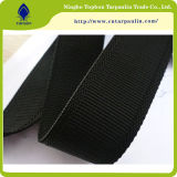 25mm Black Nylon Plain Webbing Strap Ribbon for Bags