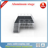 Portable Aluminum Stage Equipment with Folding Riser