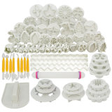 Baking Accessories Plastic Miniatures Wedding Decoration Cake Tool Mold Set for Fondant Decorate