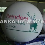 Self Inflating Helium Balloons for Advertising