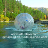Zorb Ball - Inflatable Human Water Zorbing Roller Game.