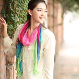 Digital Printed Silk Georgette Scarf for Women