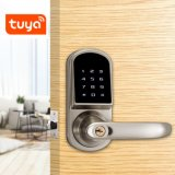 Security Digital Password RFID Card Key Bluetooth Electronic Deadbolt Door Lock Tuya Handle Smart Lock