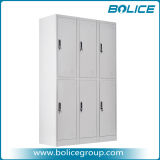 Duarable Staff Steel Locker with 6 Doors
