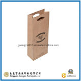 Kraft Paper Wine Packaging Bag (GJ-Bag193)
