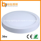 Ce RoHS Approved Aluminum Pure White Round Surface Mount 30W LED Ceiling Lamp