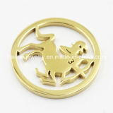 Hot Sale Fashion Stainless Steel Coin Plates Jewelry