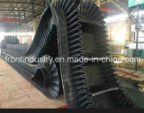 Corrugated Sidewall Conveyor Belt with Natural Rubber and Cleat