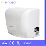 Professional White Small Mini House Sensor ABS Factory Hand Dryer for Toilet Bathroom
