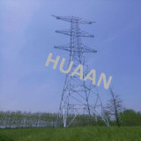 Galvanized Steel Tubular Combination Lattice Tower for Power Transmission