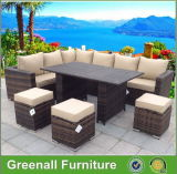 New Design Patio Wicker Rattan Furniture Dining Outdoor Furniture
