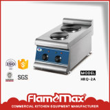 220V 3.6kw Stainless Steel 2-Plate Electric Cooker (HRQ-2A)