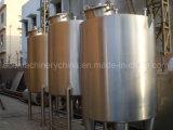 1000 Liter Gallon Sanitary Food Stainless Steel Liquid Beverage Juice Milk Hot Water Vertical Insulated Mixing Storage Tank