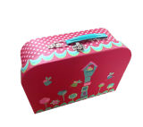 Hotsale Paper Suitcase Shape Lunch Boxes with Printing Custom Artwork