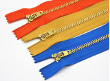 4# Metal Zipper with Brass Material for Stock Price