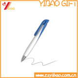 Popular Office Supply Printed Logo Plastic Ballpoint Pen for Promotional Gifts (YB-P-01)