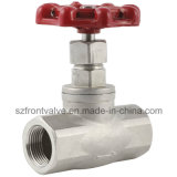 Precision Casting/Investment Casting Stainless Steel Threaded Globe Valve