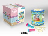 Popular Toy Baby B/O Drum W/Music & Light (838063)