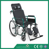 CE/ISO Approved Hot Sale Cheap Medical Steel Wheel Chair (MT05030011)