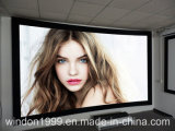 133 Inch Curved Fixed Frame Screen with 10cm Frame