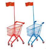 Kids Metal Shopping Small Supermarket Trolley