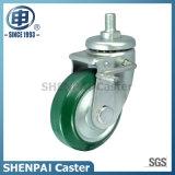 Japan Style Steel Core Rubber Swivel Caster Wheel