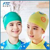 Children Silicone Flexible Waterproof Ear Protection Swim Cap