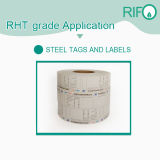 Strong Adhesive Barcode Labels, Permanent Adhesive Roll Steel Stickers