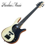 Hanhai Music/ 5-String Electric Bass Guitar with Taiji Pattern