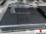 Dark Grey Granite Kerb Tombstone / Headstone