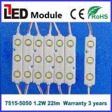 5050 3LEDs Lighting 12V LED Injection Module with Optical Lens