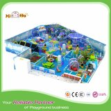 Commerical Steel Frame PVC Material Playground Accessories with Trampoline