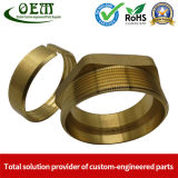 CNC Turning Brass Nuts for Medical Industry and Components