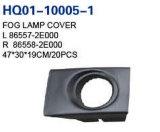 Auto Fog Lamp Cover for Hyundai Tucson 2003-2009 OEM#86557-2e000/86558-2e000/86565-2e000/86566-2e000