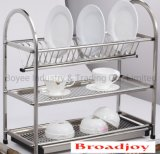 Kitchen Dish Drainer Plate Holders Hardware Basket Rack