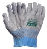 Cut Resistant Anti Vibrasion Knitted Safety Work Glove (CE Cut Level 5)
