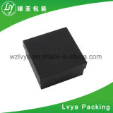 Customized Logo Black Cardboard Paper Gift Watch Packaging Box