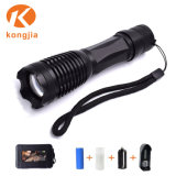 Super Bright Waterproof Tactical Light Rechargeable LED Flashlight