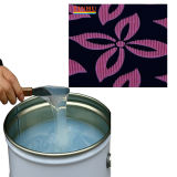 Use Glass Table Top to Operate Liquid Silicone Screen Printing Technology