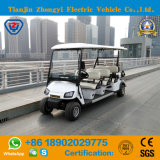 Classic 4 Wheels 8 Passenger off Road Low Speed Electric Golf Car with High Quality