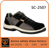 Low Price Sportive Cow Split Leather Safety Work Shoes Sc-2507