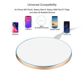 Mini Qi Fast Wireless Charger for Samsung Wireless Charging Pad for iPhone Wireless Charging