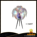 Transparent Modern Fancy Hotel Bedside Table Lamp (925T)
