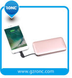 8000mAh Card Powerbank with Built-in Andriod Cable for Samsung