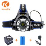 LED Hunting Bike Light Rechargeable 2000 Lumen LED Zoom Headlights
