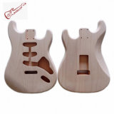 Unfinished Strat Guitar Body 2 Piece Alder Wood SSS Routed