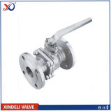 JIS 10k Stainless Steel Ss304 Flanged Floating Manual Ball Valve
