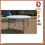 Folding Round Plastic Outdoor Dinner Table (BR-P015)